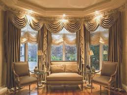 dining room fresh window treatments for bay windows in dining