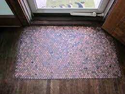 Diy Bathroom Floor Ideas Gorgeous Small Bathroom Design With Penny Tiled Floor Diy