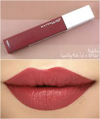 Maybelline Superstay Matte Ink maybelline superstay matte ink un collection review and
