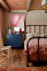 Bedroom Rustic - elorablue sky art lodge rustic bedroom pearson design group