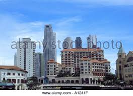 And City Swissotel Merchant Court Hotel Singapore Stock Photo Royalty