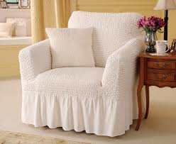 arm chair cover arm chair covers valanced armchair cover and cushion review