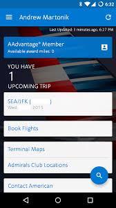 american airlines app update brings fresh design interactive