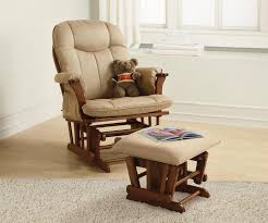 ottoman appealing lovely glider rocker with ottoman plus rug and