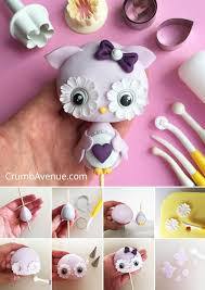 sonic cake topper owl cake topper free tutorial fondant gum paste step by