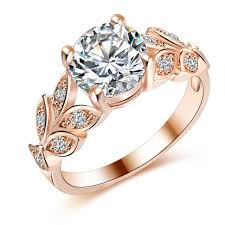 buy fashion rings images Leaf shape crystal cubic zircon ring for her at buyitgreat jewelry jpg