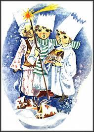 canadian slovak christmas cards the three wisemen