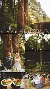 an a frame wedding in the redwoods bay area california wedding
