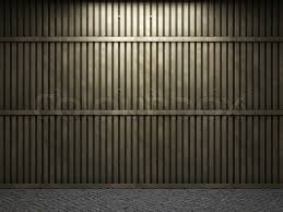 metal wall made in 3d graphics stock photo colourbox