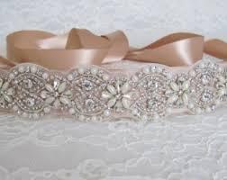bridal sash wedding belts sashes etsy
