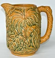 Weller Pottery Vase Patterns 7 Best Weller Pottery Marvo Images On Pinterest Weller Pottery