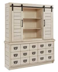 archive buffet dresser in antique white 6010209g magnolia home