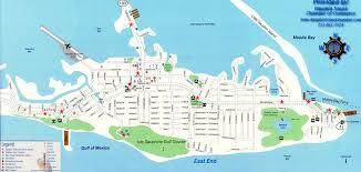 Block Island Map Dauphin Island Map