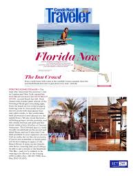 Soho Beach House In Conde Nast Traveler