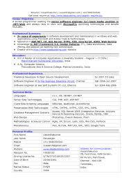Software Resume Template Best Resume Software Template Resume Builder