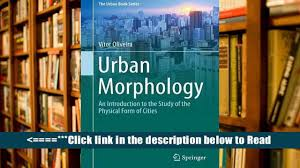 download urban morphology an introduction to the study of the