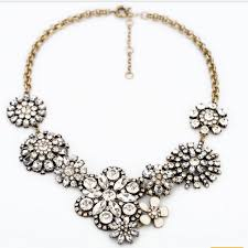 statement necklace with flower images 55 the statement necklace vintage treasure statement necklace jpg
