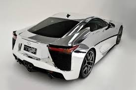 lexus lfa or audi r8 world u0027s first chrome wrapped lexus lfa arrives in australia
