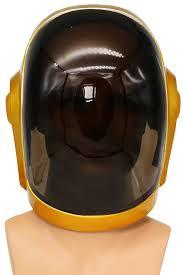 professional halloween props amazon com daft punk mask helmet 1 1 cosplay props replica thomas