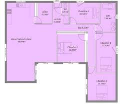 plan de maison 5 chambres plain pied résultat de recherche d images pour maison contemporaine toit plat