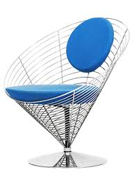 wire cone chair by verner panton for fritz hansen for sale at pamono