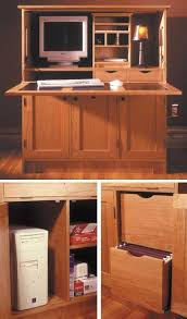 Woodworking Plans Computer Desk Home Office Hideaway Computer Desk Woodworking Plan From Wood Magazine