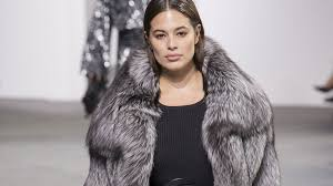 graham candice huffine plus size models on the fall 2017