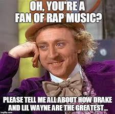 Rap Music Meme - rap music fan imgflip