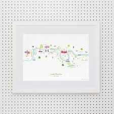 Nyc Marathon Route Map by London Marathon Route Map Art Print Standard U0026 Personalised