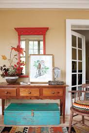 Turquoise Entry Table by Fabulous Foyer Decorating Ideas Southern Living