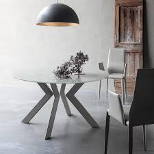 Modern Glass Round Dining Table Chair Extending Glass Dining Tables Furniture Ebay Table And Chair