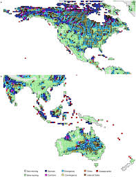 North America Climate Map by Regional Maps For North And Central America And Southeast Asia