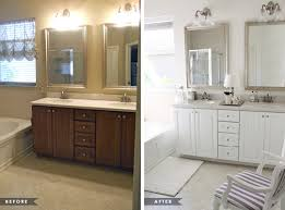 Before After Bathroom Makeovers - glamorous master bathroom update house mix