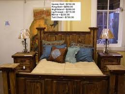 Rustic Bedroom Furniture Sets King Casa Del Sol Rustic Home Furniture And Western Decor