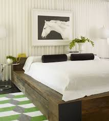 Solid Wood Platform Bed Frame Magnificent Solid Wood Platform Bed Frame Decorating Ideas Gallery