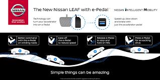 nissan leaf youtube channel 2018 nissan leaf e pedal teaser