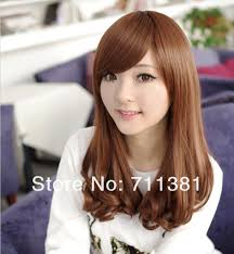 waivy korean hair style hot sale free shipping 2013 new korean women dark brown light
