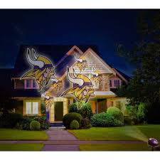 outdoor halloween projector indoor outdoor football nfl minnesota vikings team logo led light