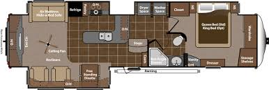 5th Wheel Camper Floor Plans Rv 5th Wheel King Of The Trailers Camper Most Popular Camper