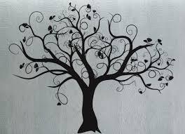 swirly tree 3 uber decals wall decal vinyl decor sticker
