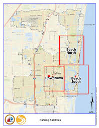 map of ft lauderdale city of fort lauderdale fl city parking locations