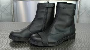 waterproof biker boots tcx urban waterproof boots motorcycle superstore youtube