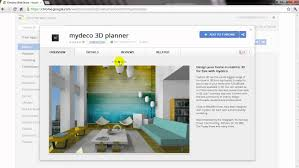 how to add mydeco 3d to your google chrome apps youtube