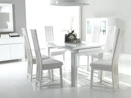 Gloss White Dining Table And Chairs White Dining Table Set Culturesphere Co