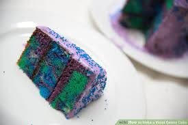 how to make a violet galaxy cake with pictures wikihow
