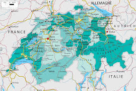 Map Of Switzerland And France by Maps Of Switzerland Switzerland Travel Guide