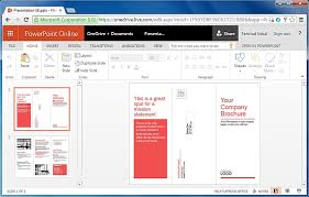how to make a brochure template office 365 online templates