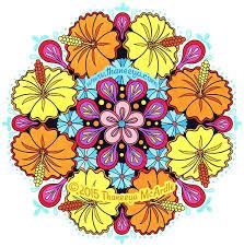 Flower Mandalas Coloring Book By Thaneeya Mcardle Thaneeya Com Mandala Flowers Coloring Pages
