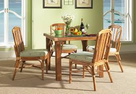 dining room creative rattan dining room table design ideas