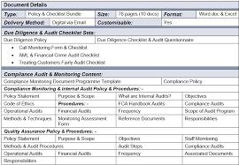 audit qa u0026 due diligence bundle know your compliance